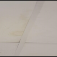 WHAT TO DO ABOUT WATER STAINS ON CEILINGS!